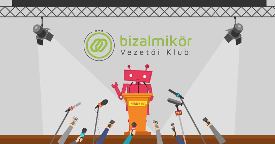 Vendég a Bizalmi Kör Business talks Facebook live esemény a Talk-A-Bot